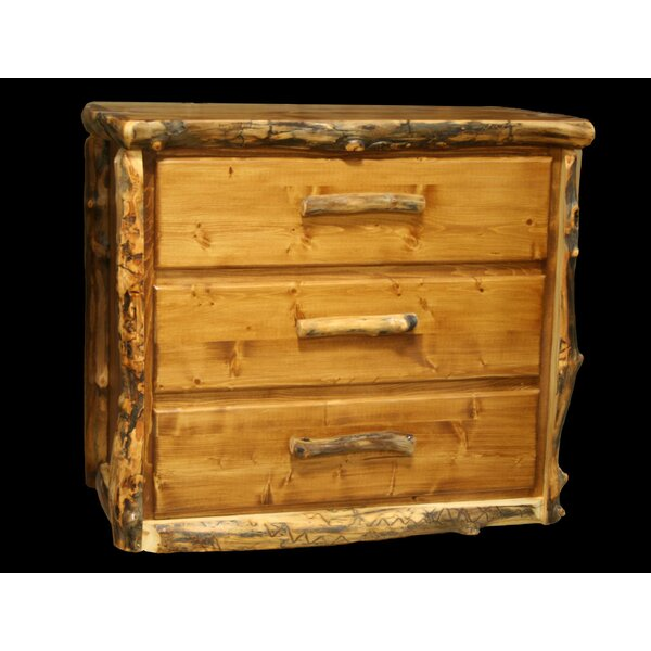 Amias 3 Drawer Chest by Millwood Pines