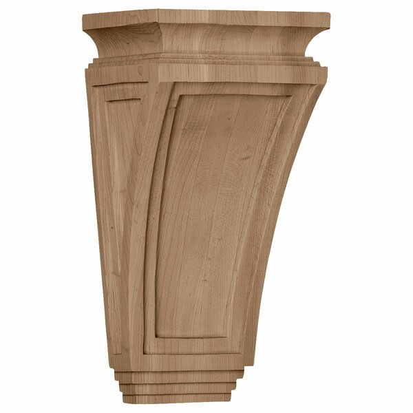 Arts and Crafts 12H x 6W x 4 3/4D Corbel in Cherry by Ekena Millwork