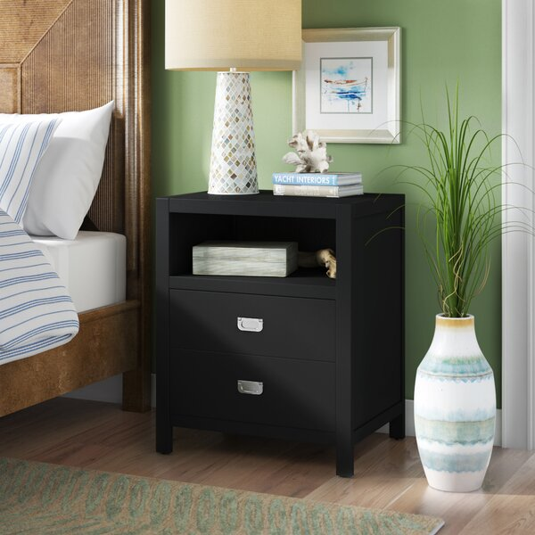 Antonina End Table with Storage by Beachcrest Home