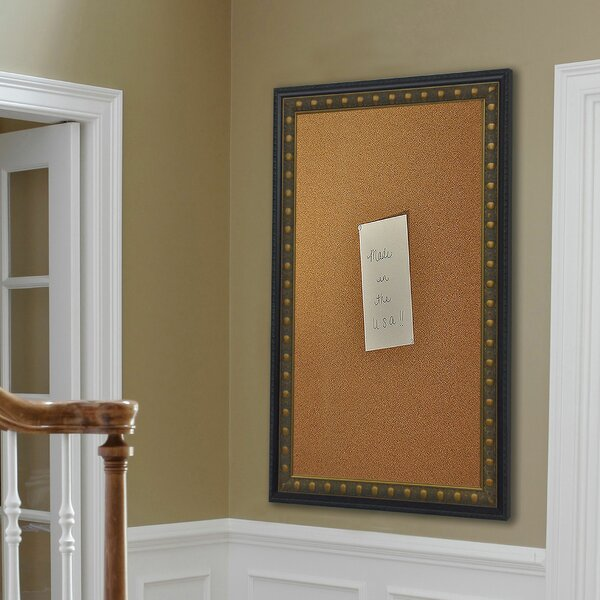Madilyn Nichole Traditional Cameo Wall Mounted Bulletin Board by Rayne Mirrors