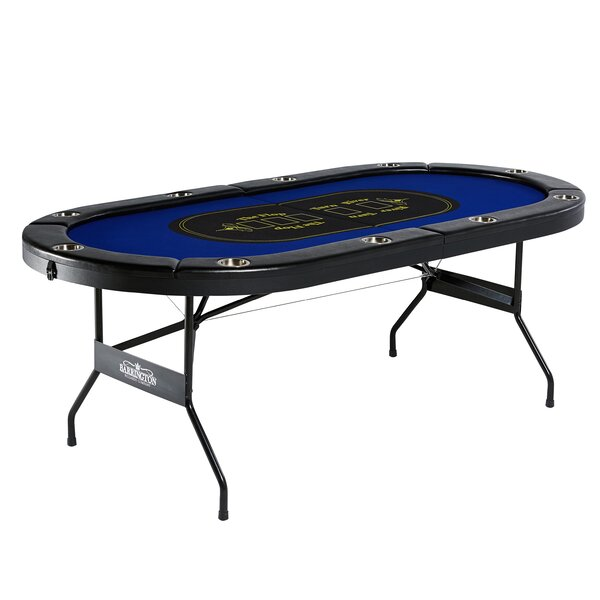 10 Player Poker Table by Barrington Billiards Comp