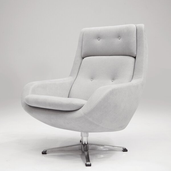 Oscar Swivel Lounge Chair by Corrigan Studio