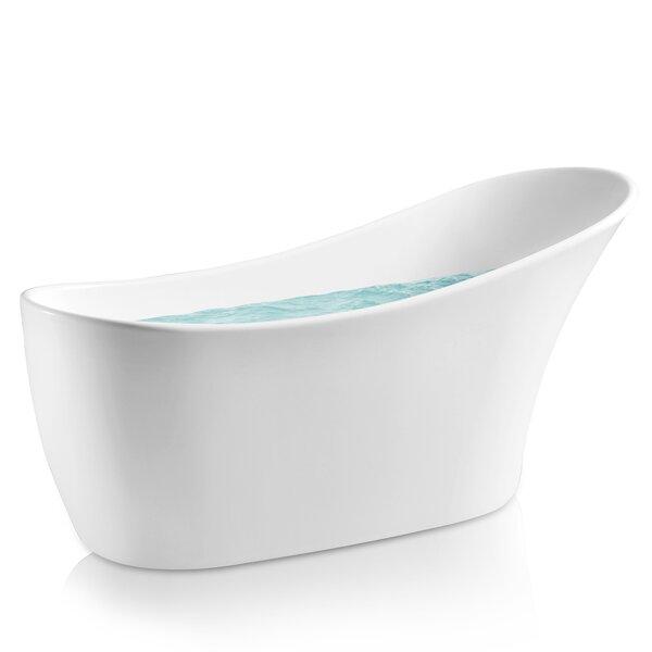 64 x 24 Freestanding Soaking Bathtub by AKDY