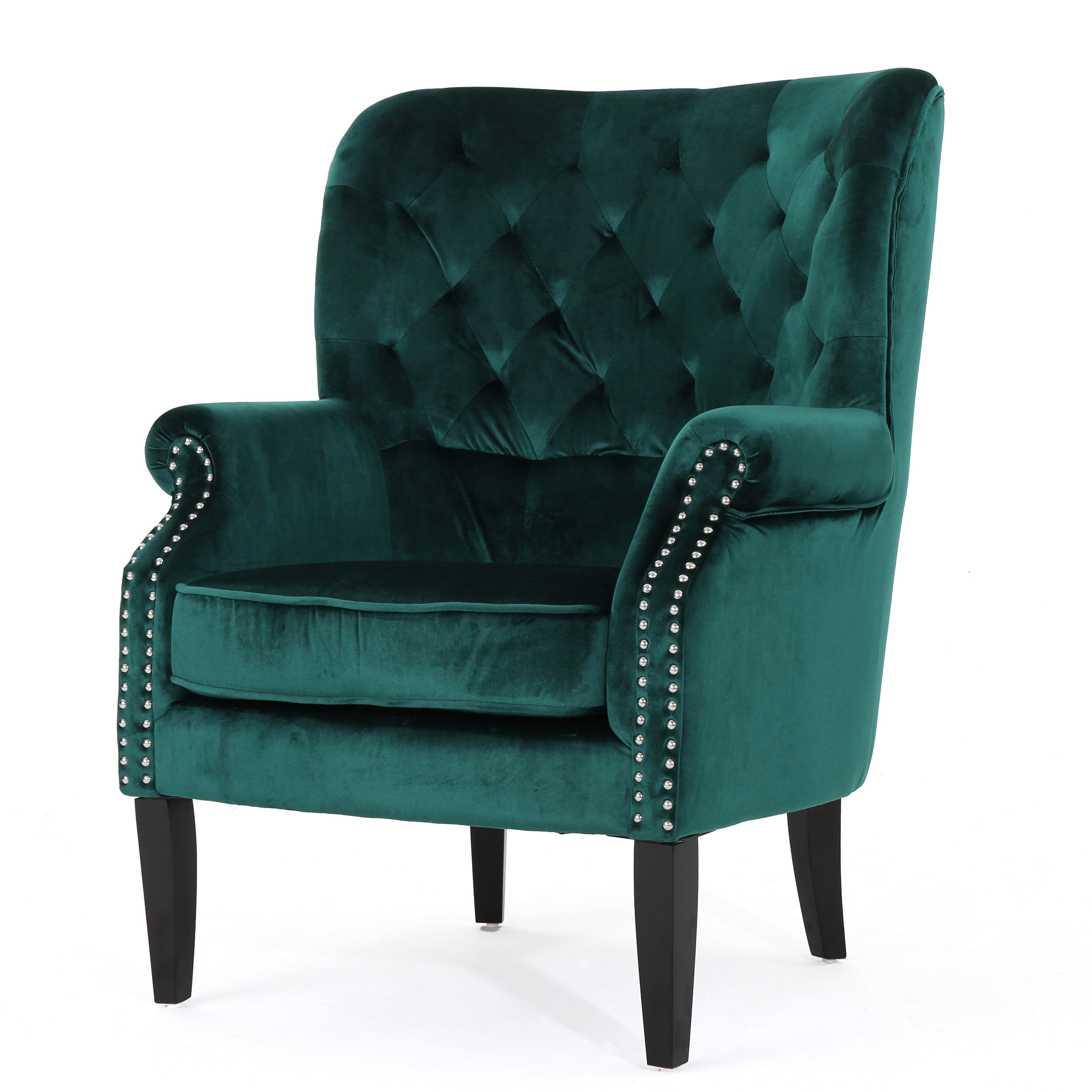 Patterned Wingback Chair Awesome Design Ideas