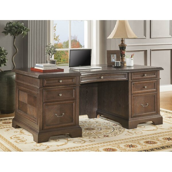 Ockton Executive Desk (Set of 4) by Canora Grey