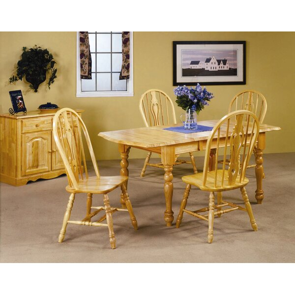 Lockwood 5 Piece Dining Set by Loon Peak