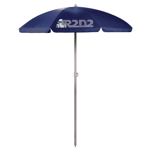 R2-D2 5.5' Portable Beach Umbrella by ONIVA ONIVA™