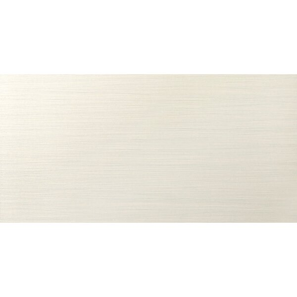 Strands 12 x 24 Porcelain Fabric Look/Field Tile in Pearl by Emser Tile