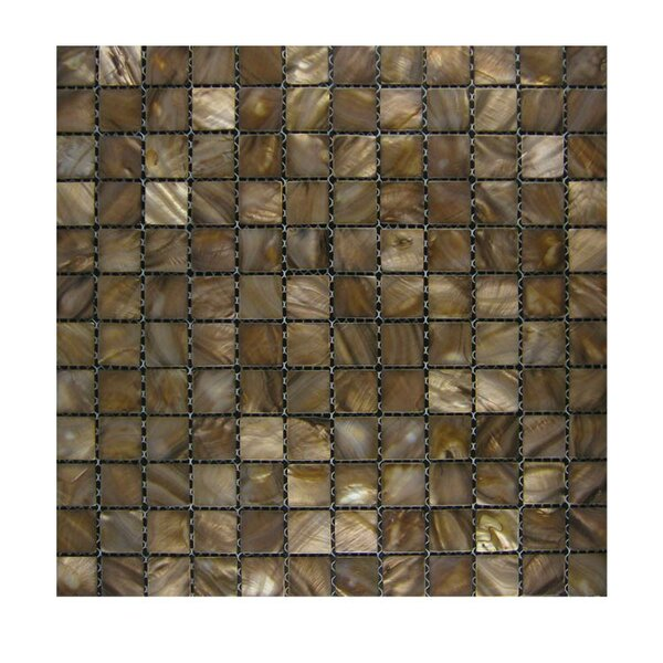Glass Mosaic Tile in Gold by QDI Surfaces