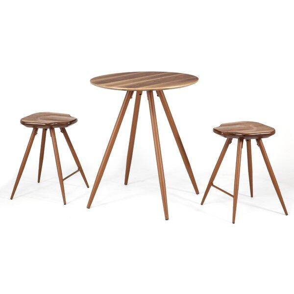 Bove 3 Piece Pub Table Set by Union Rustic