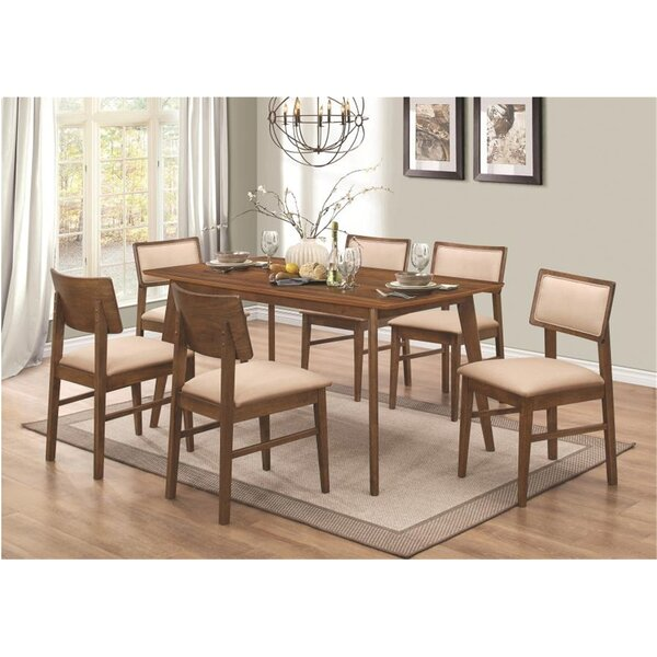 Tidore 7 Piece Dining Set by Union Rustic