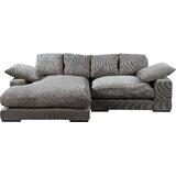 "106"" Reversible Modular Sofa & Chaise"