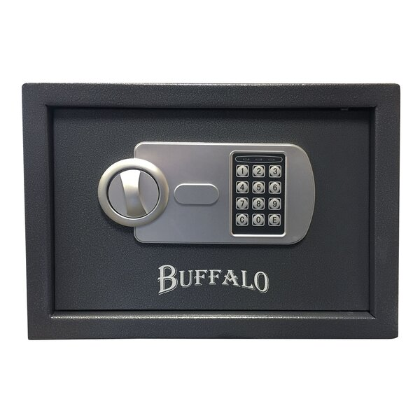 Solid Steel Safe Box with Electronic Keypad Lock by Offex