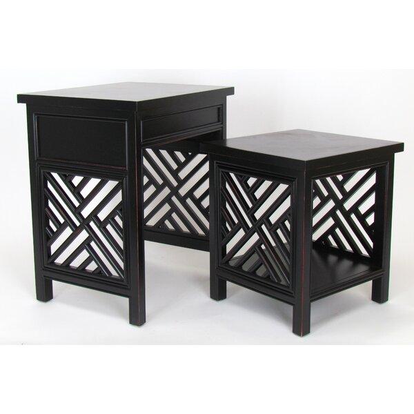 Hopkins 2 Piece Nesting Tables By Bayou Breeze