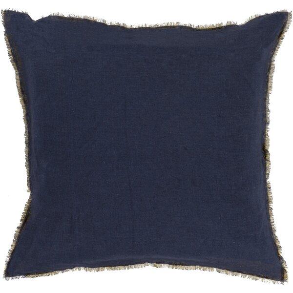 Bard Linen Throw Pillow by Beachcrest Home