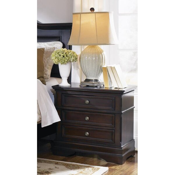 Tandy 3 - Drawer Nightstand In Cappuccino By Canora Grey