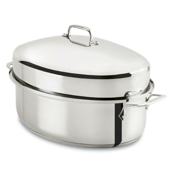 Specialty Cookware 18.5 Oval Covered Roaster by All-Clad