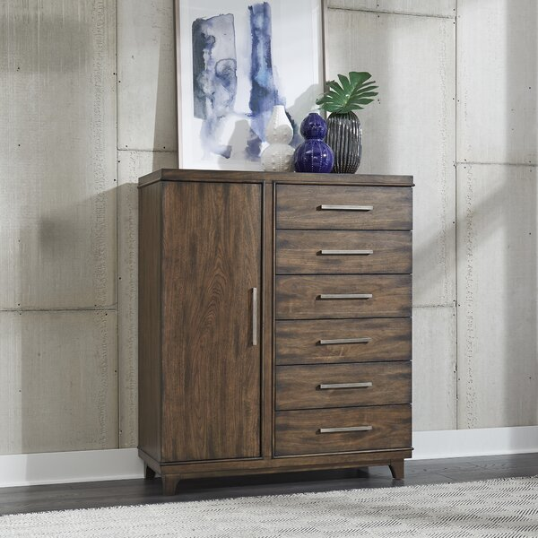Schacht Door 6 Drawer Combo Dresser by Brayden Studio