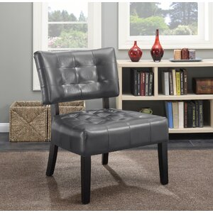 Anjotiya Slipper Chair by Roundhill Furniture