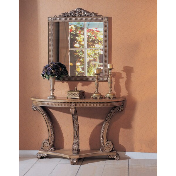 Ovid 58 Console Table and Mirror Set