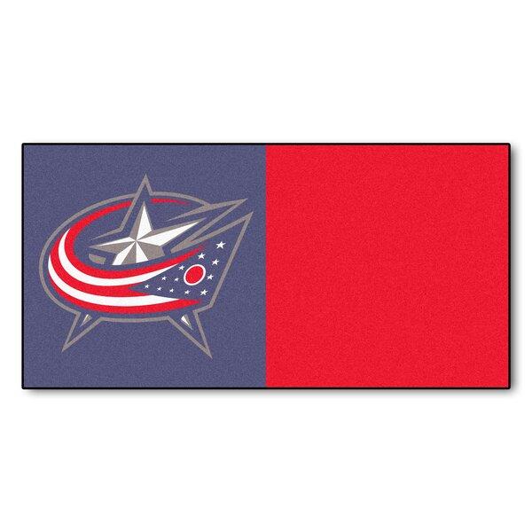 NHL - Chicago Blackhawks Team Carpet Tiles by FANM