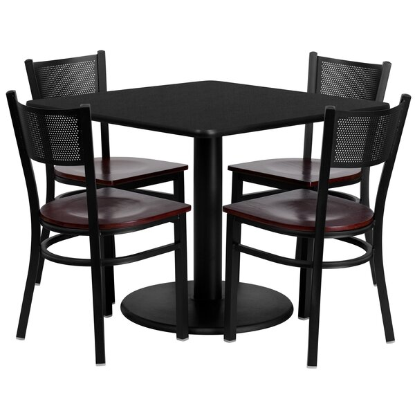 Ashwini 5 Piece Dining Set by Red Barrel Studio