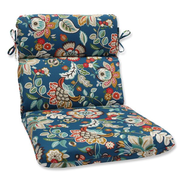 Telfair Peacock Indoor/Outdoor Chaise Lounge Cushion by Pillow Perfect