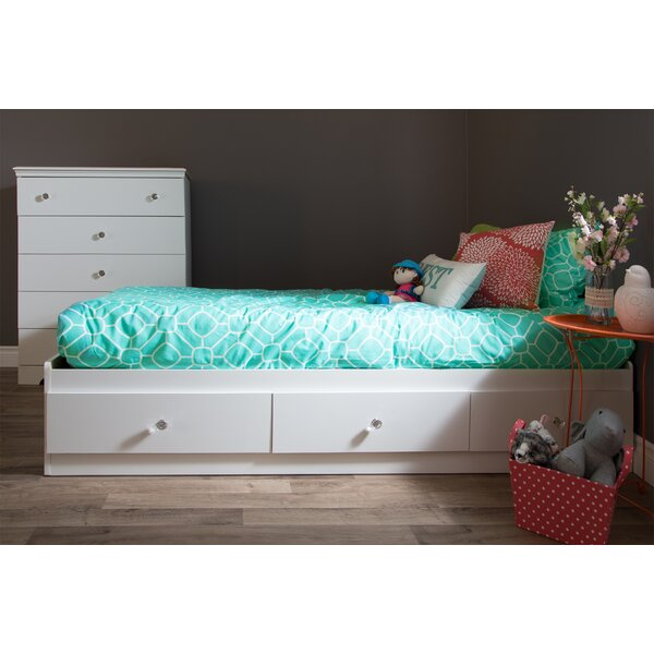 Crystal Twin Mates & Captains Bed with Drawers by South Shore