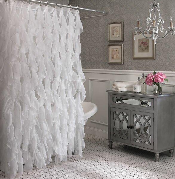 Westendorf Cascading Waterfall Shower Curtain by Willa Arlo Interiors