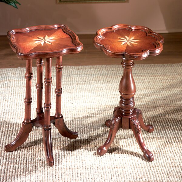 Laidley Oval Scatter Solid Wood End Table By Astoria Grand