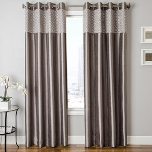 Roselle Guild Grommet Single Curtain Panel