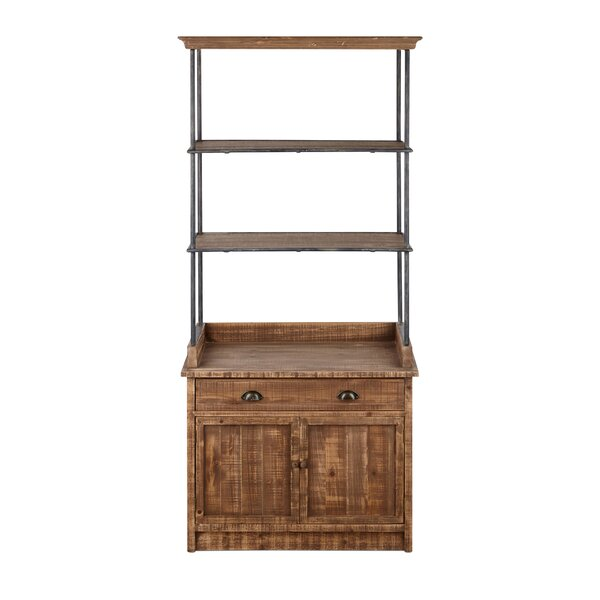 Bevin Ludin Etagere Bookcase by Gracie Oaks