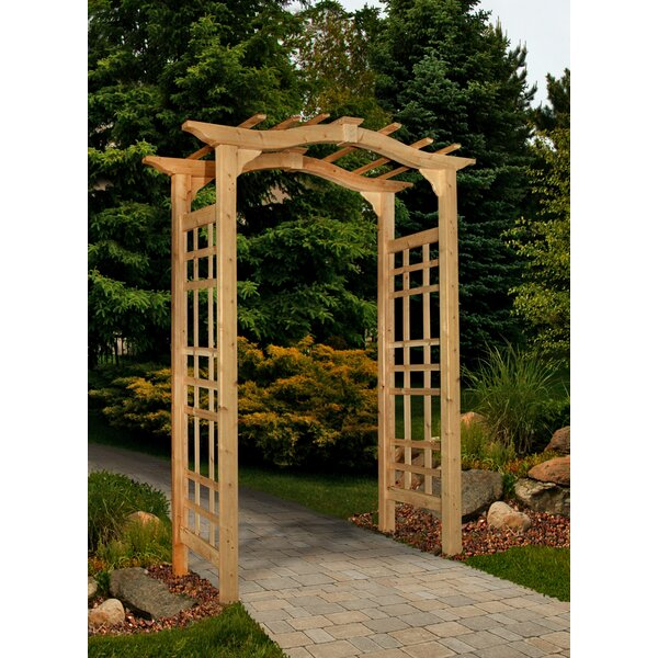 Westwood Wood Arbor by New England Arbors