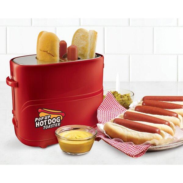 2 Slice Pop-Up Hot Dot Toaster by Nostalgia