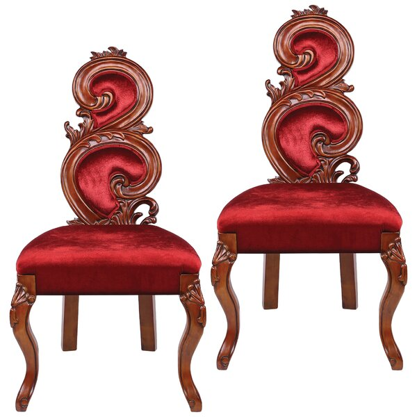 Renaissance Side Chair (Set of 2) by Design Toscano