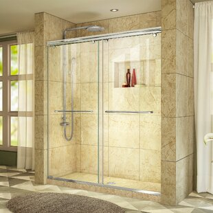 Price Check Charisma 60 x 76 Bypass Semi-Frameless Shower Door with Clearmax™ Technology ByDreamLine