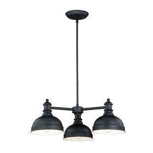 Best Price Dasent 3-Light Shaded Chandelier By Birch Lane™