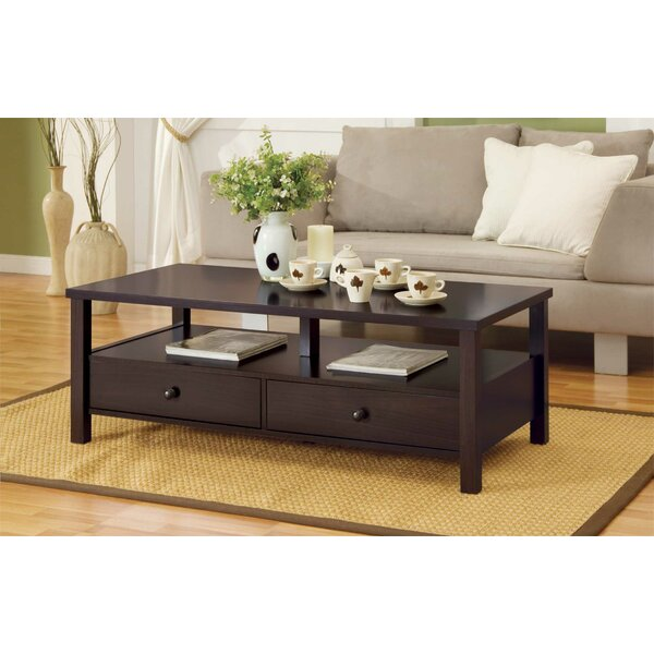 Fecteau Coffee Table with Storage by Winston Porter Winston Porter