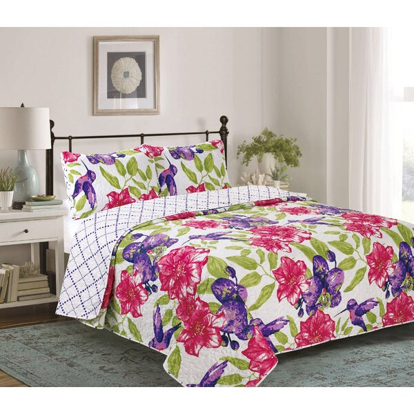 Henshaw 3 Piece Reversible Quilt Set by Winston Porter