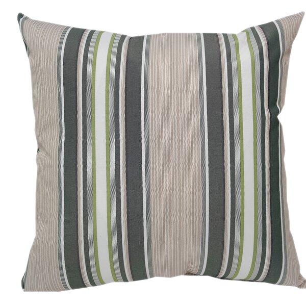 Wurthing Outdoor Striped Throw Pillow (Set of 2) by Red Barrel Studio