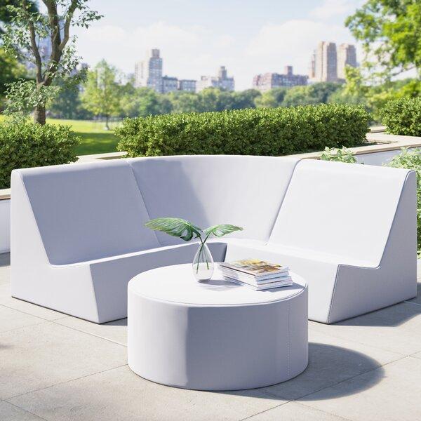 Jive 3 Piece Sectional Seating Group By La-Fete by La-Fete 2020 Online