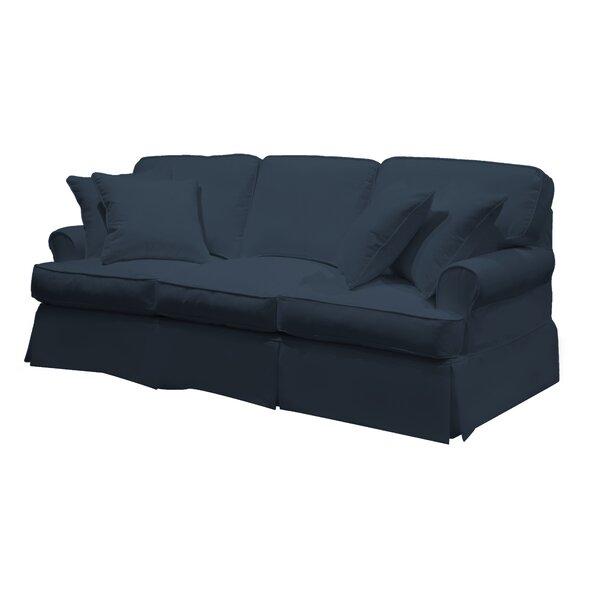 Telluride T-Cushion Sofa Slipcover by Laurel Foundry Modern Farmhouse