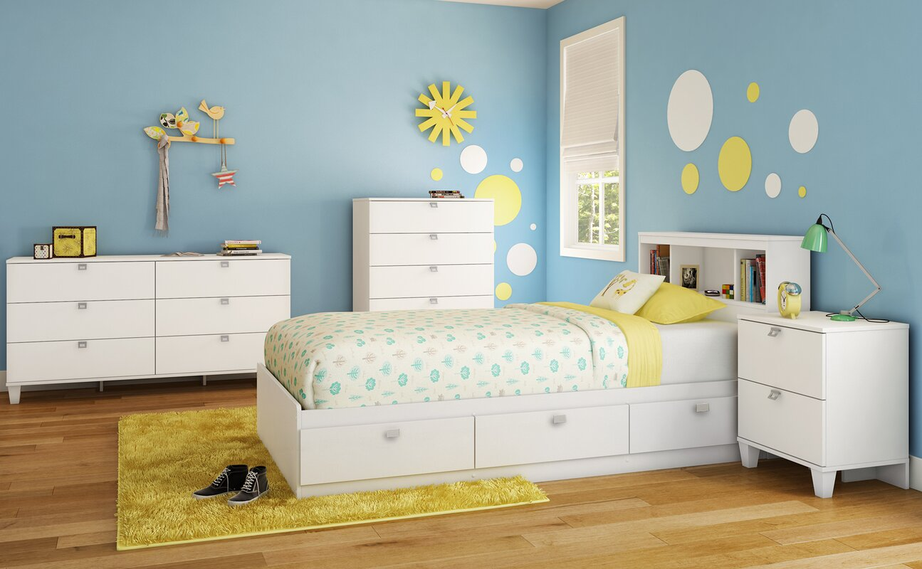 Wayfair Headboard White Headboard Wayfair Headboard And: South Shore Karma Bookcase Headboard & Reviews