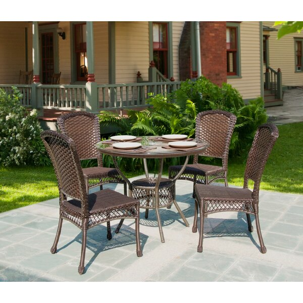 Kohr 5 Piece Dining Set by Bayou Breeze