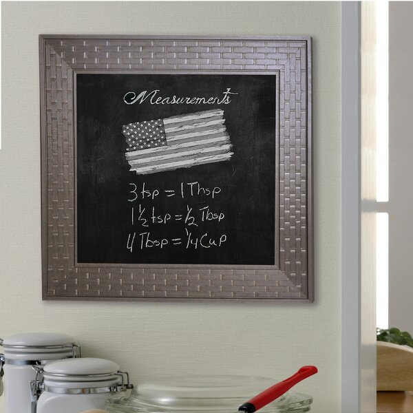 Bricks Wall Mounted Chalkboard by Rayne Mirrors