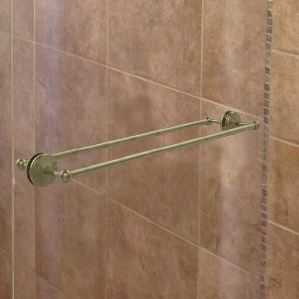 Monte Carlo Back Shower Door Wall Mounted Towel Bar by Allied Brass