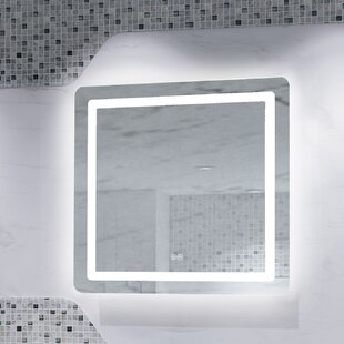 Best Price Bodkin Back Lit LED Daylight Bathroom Mirror By Orren Ellis