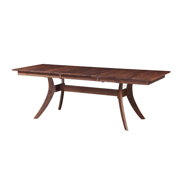 Waris Extendable Dining Table by Bloomsbury Market