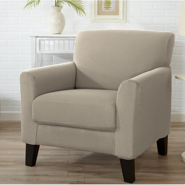 T Cushion Armchair Slipcover By Winston Porter.