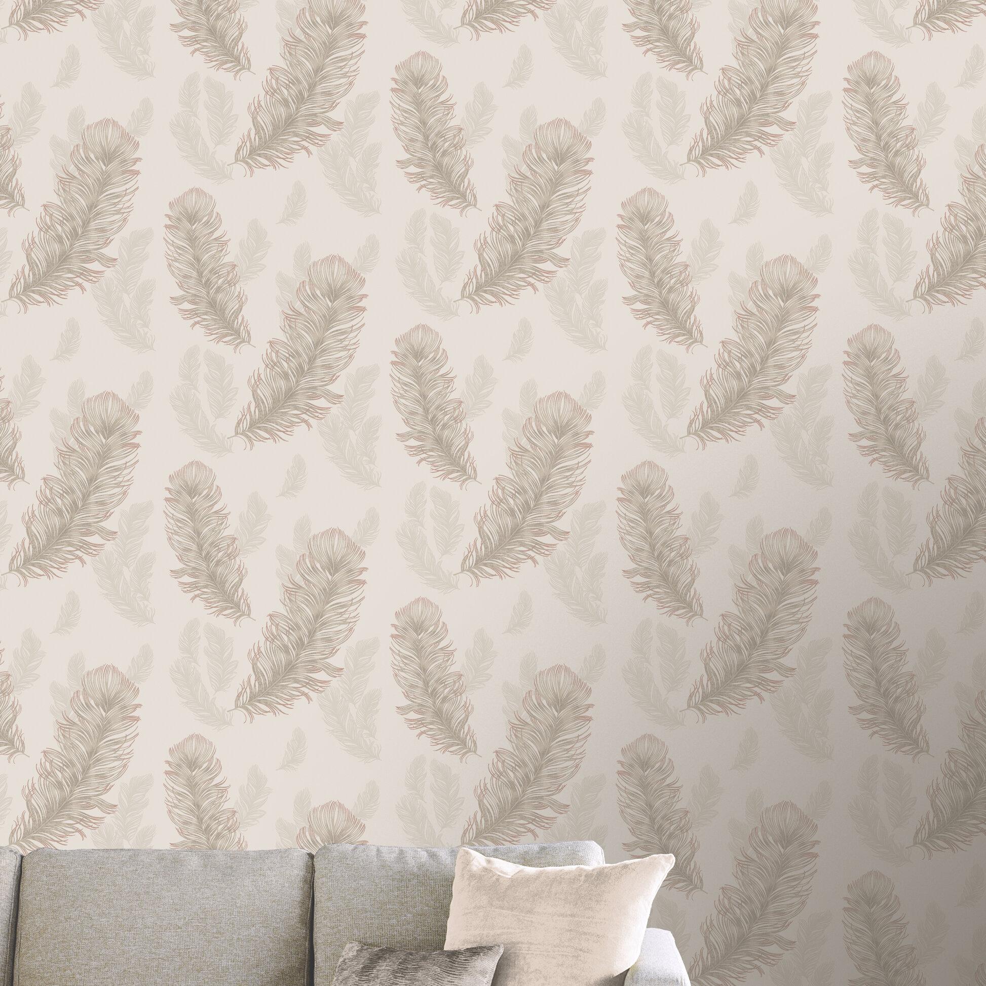 Arthouse Sirius Rose Gold 31 5 X 21 Wallpaper Roll Wayfair